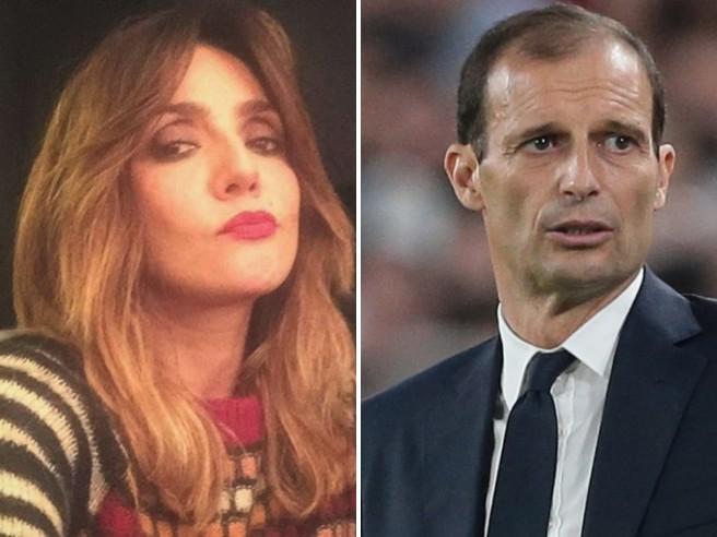 Ambra Angiolini: «Massimiliano Allegri, che mi abbraccia come nessuno ha mai fatto»