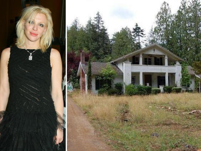 Courtney Love in bolletta: mette in vendita la casa che cade a pezzi