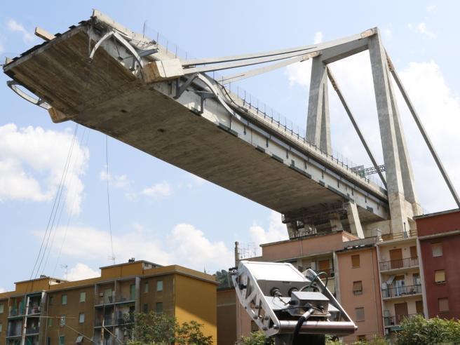 Ponte Morandi a Genova, in 3 nuovi video si vedono il tirant