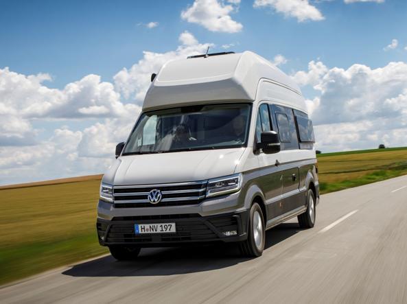 Il nuovo Volkswagen Grand California