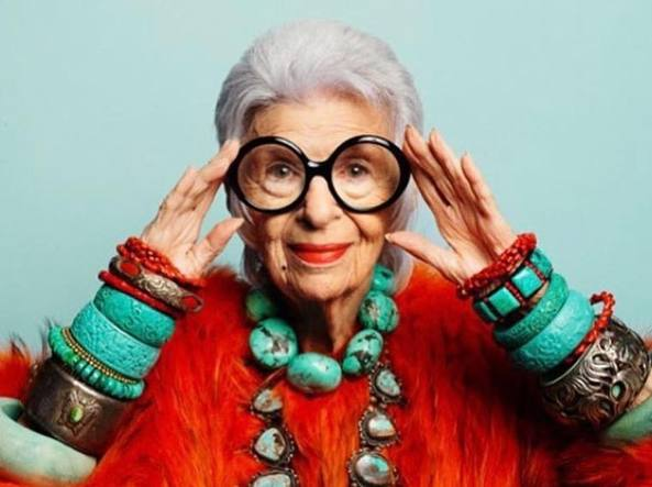 Iris Apfel: At 97 she is the oldest model