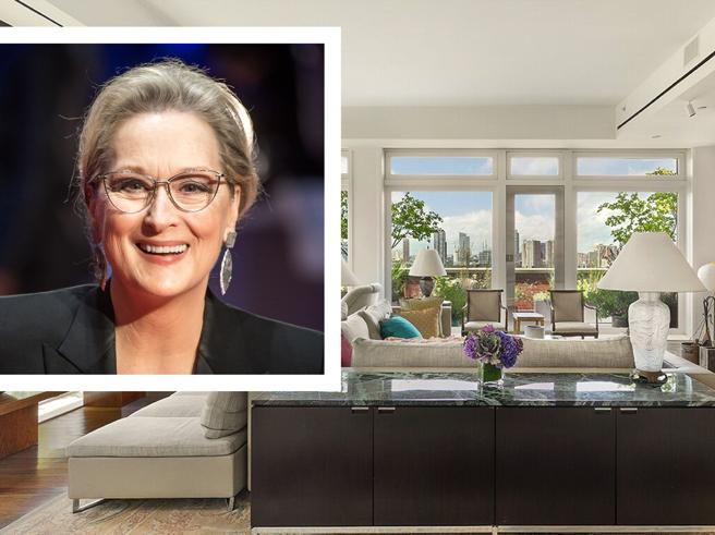 Meryl Streep, attico in vendita a New York per 25 milioni di dollari