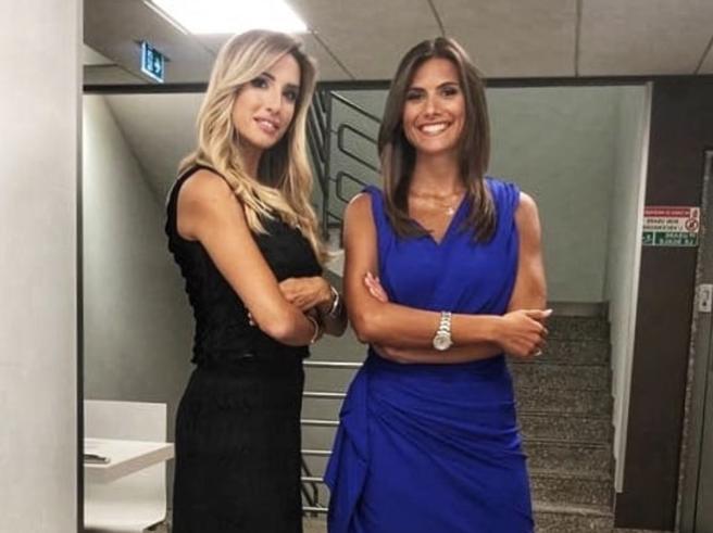 Giorgia Rossi e Elena Tambini, le gemelle del gol insieme in tv e sui social
