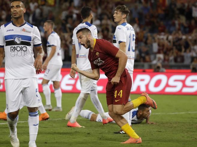 Roma-Atalanta 3-3, i giallorossi hanno un asso nella Manolas