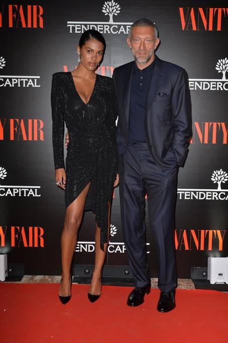 48bdc887b445 Tina Kunakey e Vincent Cassell sul red carpet di Venezia 2018
