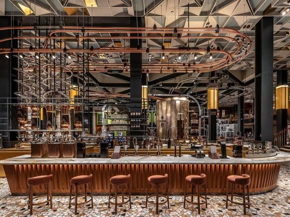 Le Foto Del Nuovo Starbuks Ad Amsterdam : Starbucks a milano «finalmente in italia realizzato il