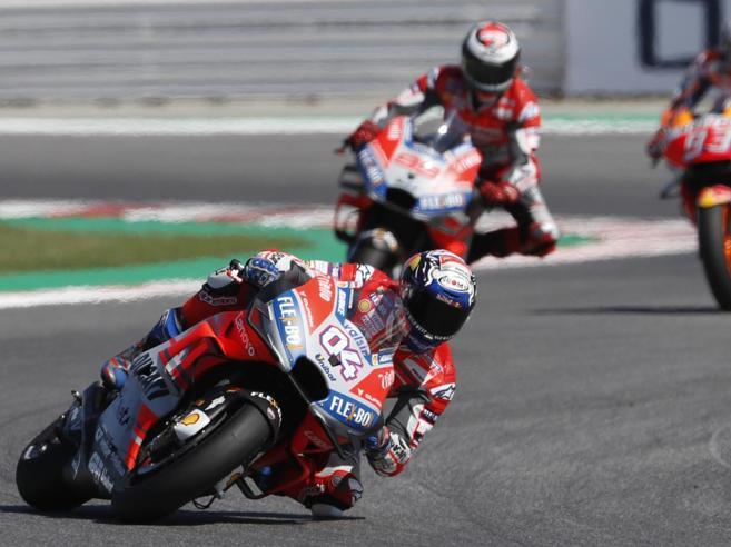 MotoGp: festa Ducati, trionfa Dovizioso davanti a Marquez