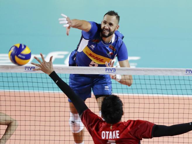 Mondiali pallavolo, l'Italia debutta bene: 3-0 al Giappone