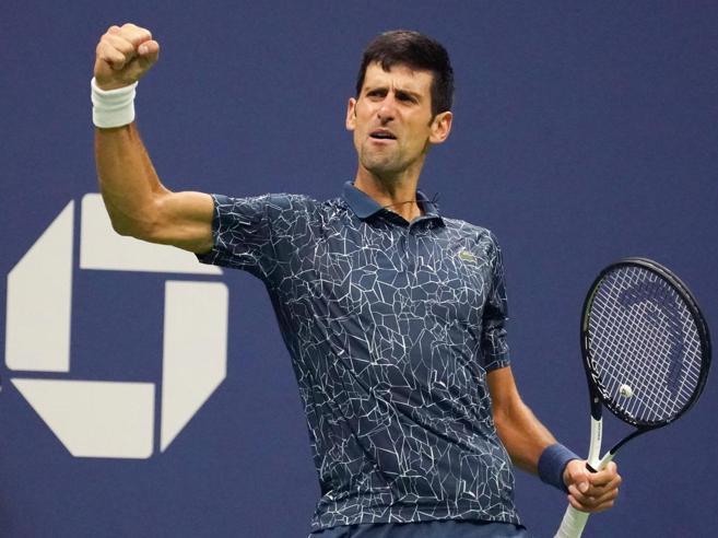 Immenso Djokovic è lui il re di New York: batte Del Potro in tre set
