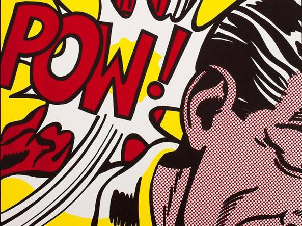 Roy Lichtenstein, «Sweet Dreams, Baby!» (1965, particolare)