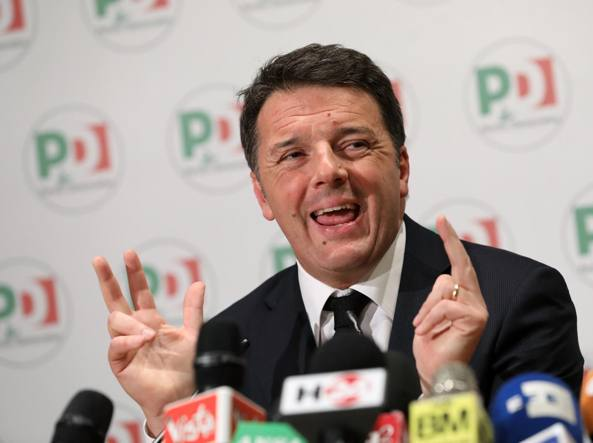 L'ex segretario Pd Matteo Renzi (Getty Images)