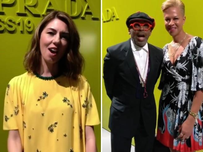 Sofia Coppola, Spike Lee e gli altri: tutti vip alle sfilate di Milano