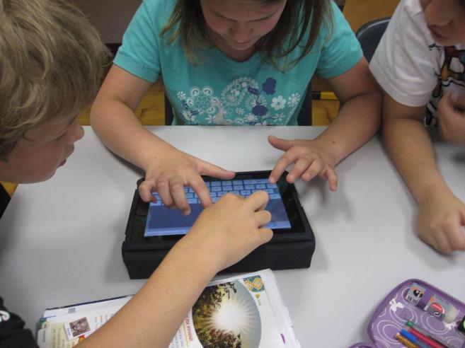 Scuola, un ragazzo su 3 ha una classe 2.0 con tabletMa man