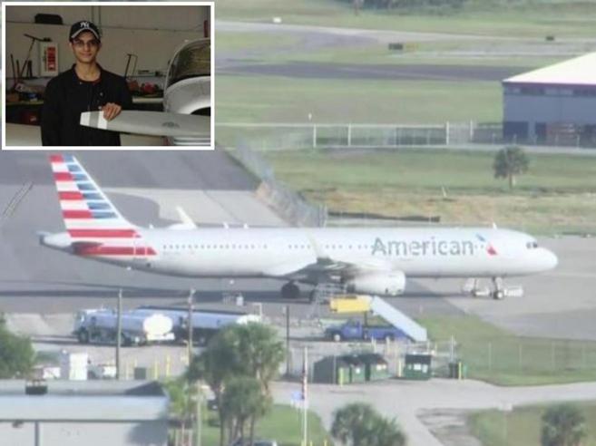 Usa, 20enne si intrufola a bordo di un aereo di linea nell'a