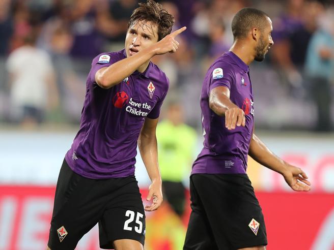Fiorentina-Spal 3-0: Pjaca, Chiesa e Milenkovic: i viola decollano