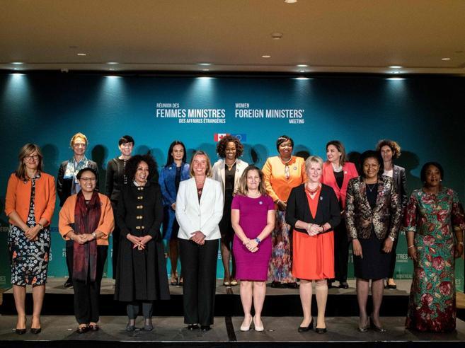 Ministre degli Esteri in Canada: «Ora un'agenda femminista»