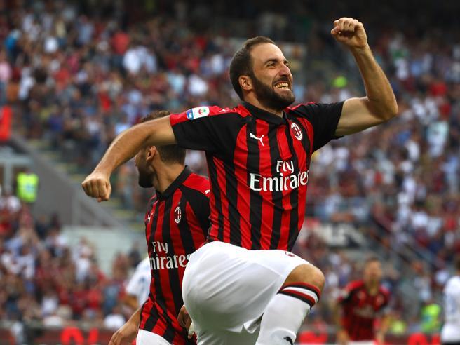 Milan si fa riprendere due volte: con l'Atalanta  finisce 2