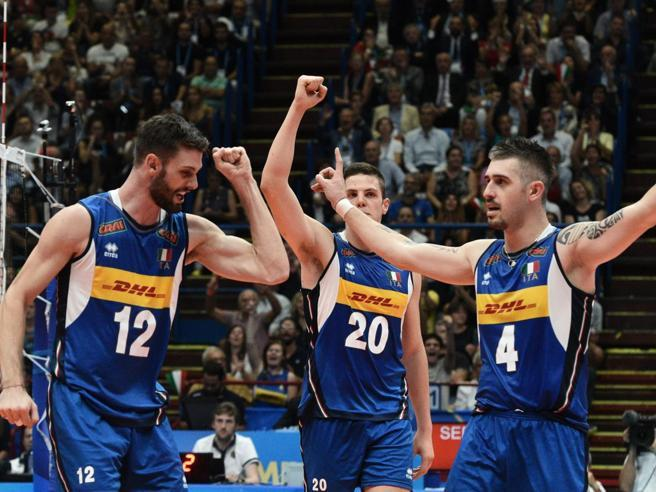 Mondiali di volley, Italia-Olanda 3-1. Settima vittoria su otto partite