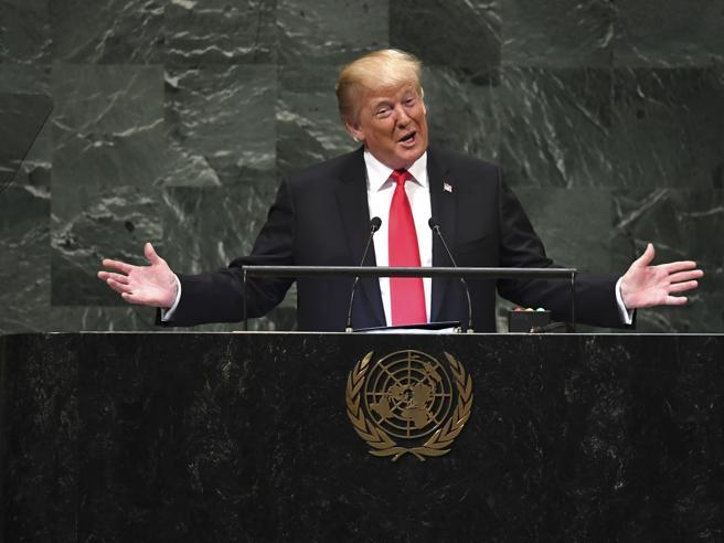 Trump all'Onu: «Aiuteremo solo i paesi che ci rispettano» Video: la battuta|Foto