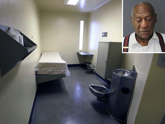 Ecco la cella dove Bill Cosby passerà i prossimi anni Foto