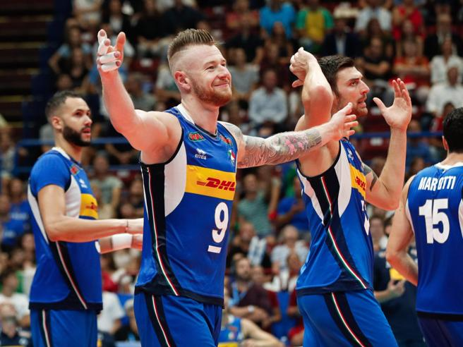 Volley, Italia-Serbia per le Final Six Zaytsev sfida l'amico Atanasijevic