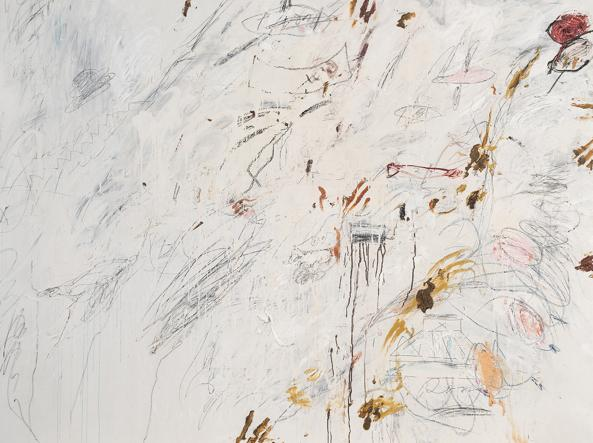 Cy Twombly, «Roma (Il muro)», 1961