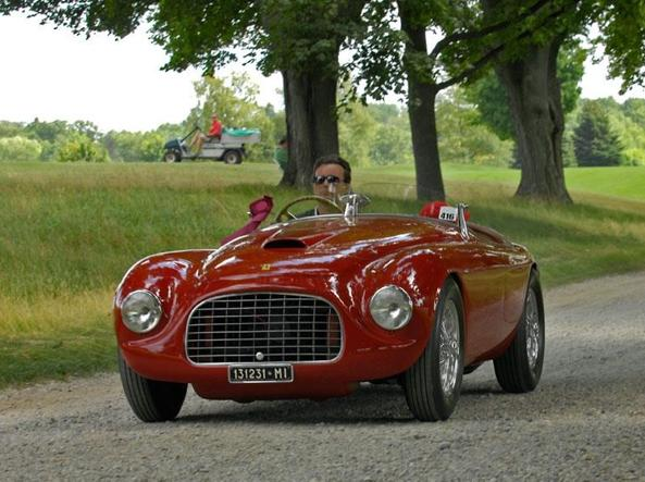 Una Ferrari 166 MM «barchetta»