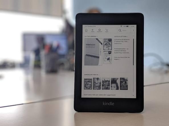5374bb962bb52b Nuovo Kindle Paperwhite 2018, Amazon rilancia il suo ebook reader più  popolare