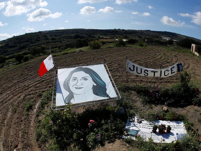 Daphne, un anno dopo. Il figlio: per i reporter oggi a Malta è ancora più dura Foto