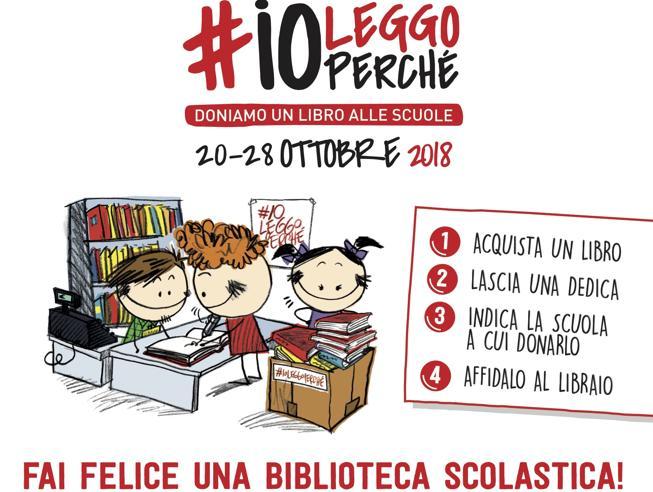 #ioleggoperché,5 buone ragioniper regalare un libro alle scuole