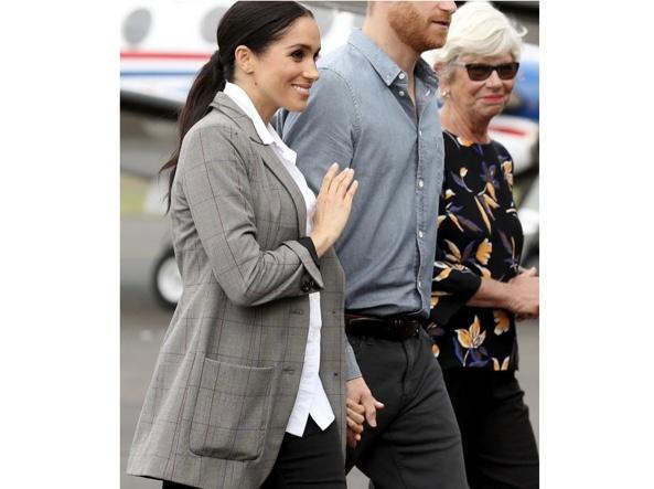 Giacca Da Camera Uomo Intimissimi : Meghan markle e la giacca firmata serena williams foto corriere