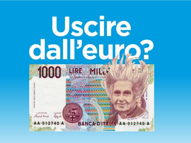 Cosa succede se usciamo dall?euro?