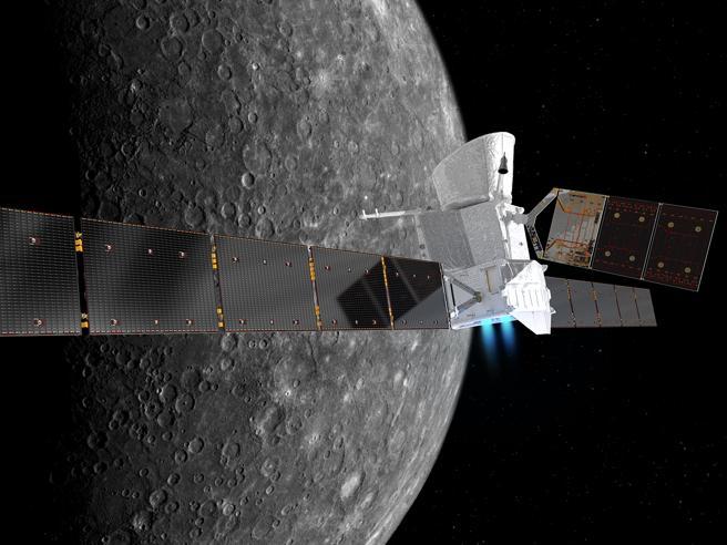 Parte la prima missione europea verso Mercurio: arriverà nel 2025