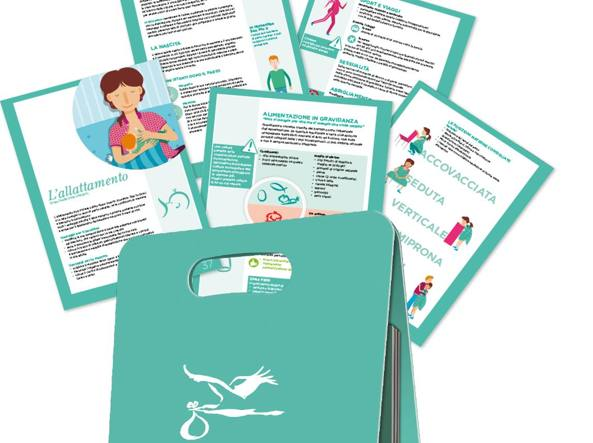 823dc58da6 Mamabook», una valigetta con la guida di viaggio per futuri genitori ...