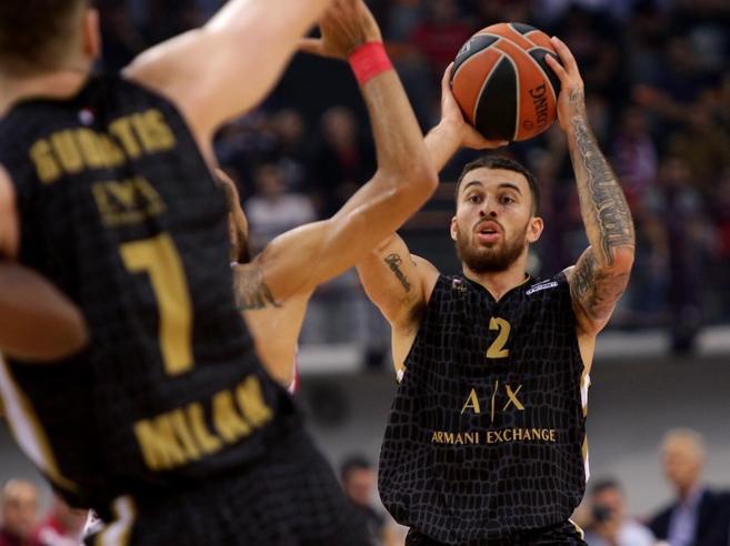 Eurolega, Milano a valanga al Pireo: Olympiacos battuto 99-75