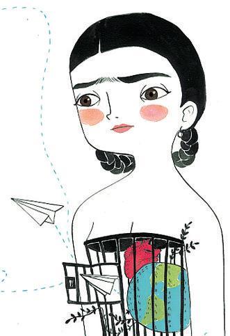 Frida Kahlo, la biografia illustrata in una graphic novel a colori