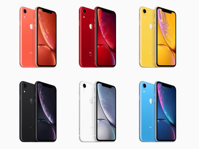 iPhone XR in pre-ordine: il prezzo e le caratteristiche della versione colorata