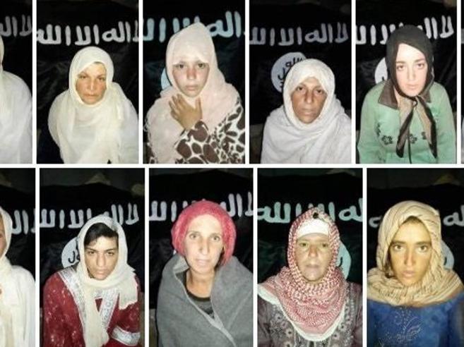 Isis rilascia 6 ostaggi drusi in uno scambio prigionieri