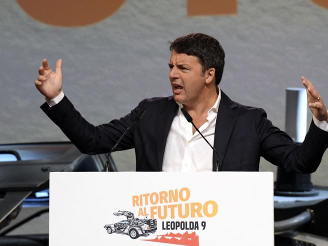 Renzi alla Leopolda: «Stanno mandando l'Italia a sbattere c