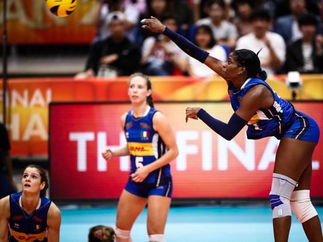 Ascolti tv, boom per le ragazze della pallavolo nella finale Italia-Serbia