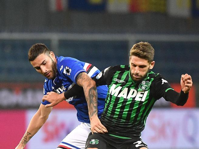 Sampdoria-Sassuolo 0-0, senza emozioni (e senza Var) a Marassi