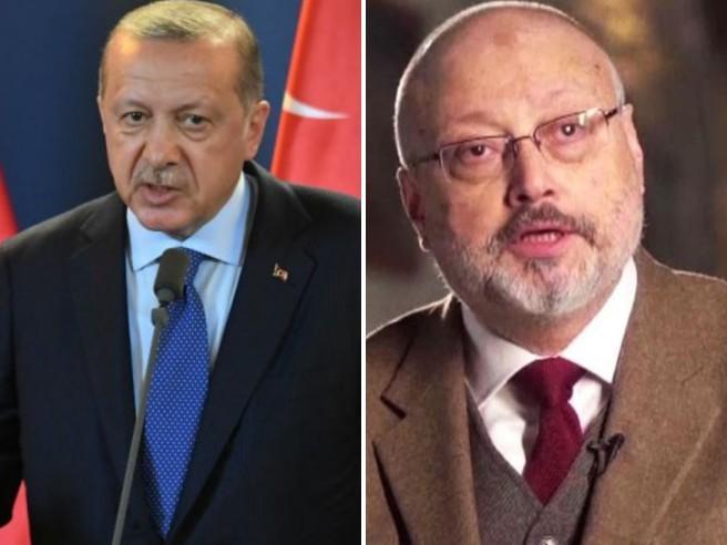Khashoggi, Erdogan attacca:  «Feroce delitto politico» Non