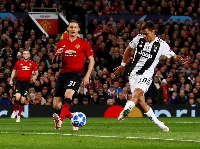 Juventus,  lezione a Mourinho Dybala doma lo United:  0 1E