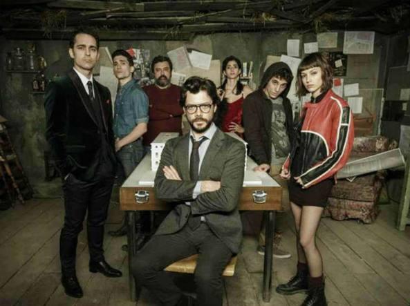 La casa di carta partono le riprese della terza parte for La casa di carta 2 episodi