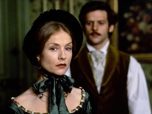 L'attrice francese Isabelle Huppert nei panni di Madame Bovary