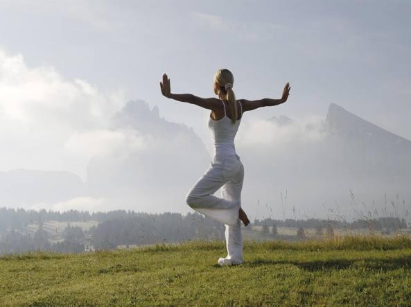 Yoga in alta quota  relax (vista cime) 903c479433db
