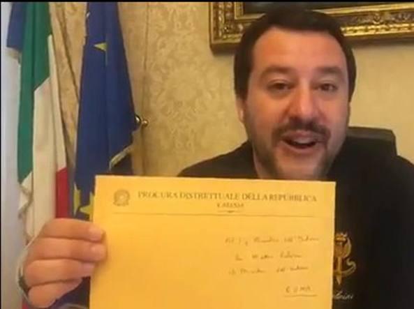 Nave Diciotti, Salvini: «Chiesta l'archiviazione, ho fatto bene a fermare i migranti»