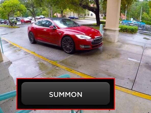 Se le chiami, le Tesla ora tornano da sole dal proprietario