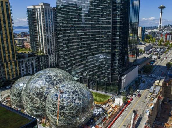La sede di Amazon a Seattle