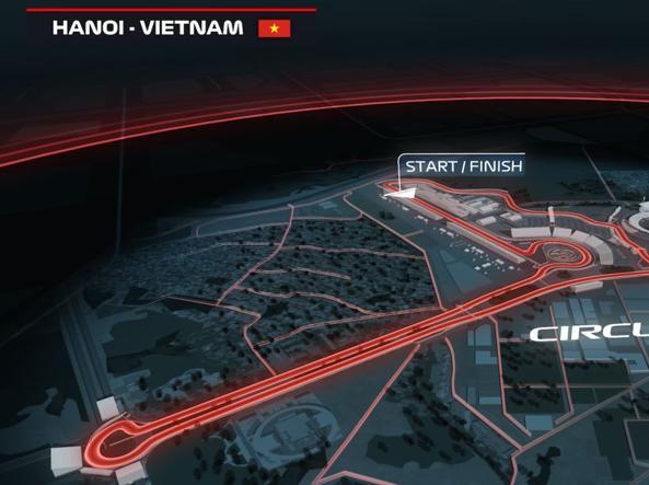 F1, dal 2020 si disputerà ad Hanoi il Gp del Vietnam